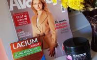 revista Avantaje de octombrie cu doua cadouri masca de par Loncolor expert si Lacium junior