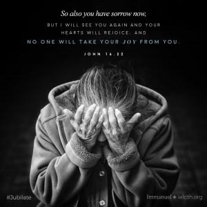 St. John 16.22