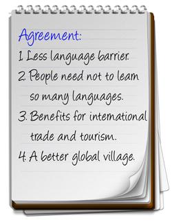 Less language barrier