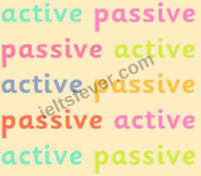 easy way to learn active passive Present tense voice in English grammar
