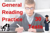 General reading practice tests free 30