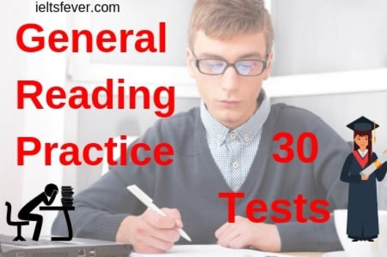 General reading practice test for ielts pdf 30 Tests