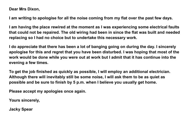 IELTS Letters – How To Write An Apology Letter – IELTS Jacky