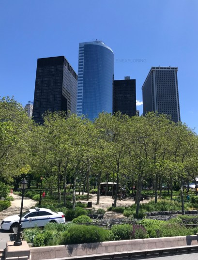 5 days in new york. Top things to do. Battery Park
