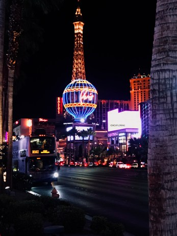 Top Tips For First Time Travelling To Las Vegas- Vegas strip by night