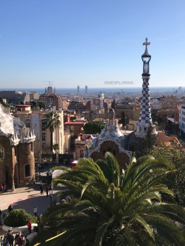 4 Days In Barcelona - Top Things To Do- Park güell