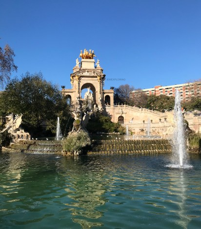 4 Days In Barcelona - Top Things To Do- Cascada monumental