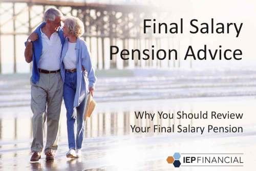Final Salary Pension Advice - Life Expectancy Calculator