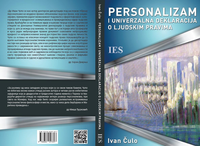 Иван Чуло, Персонализам и Универзална декларација о људским правима, ИЕС, 2019.