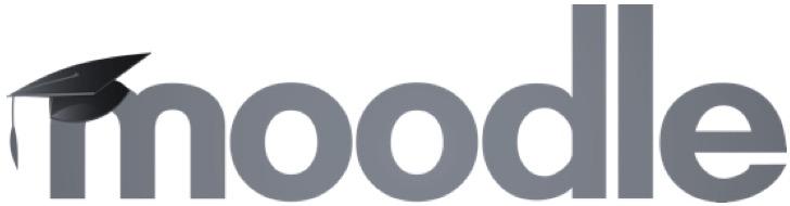 moodle logo negre