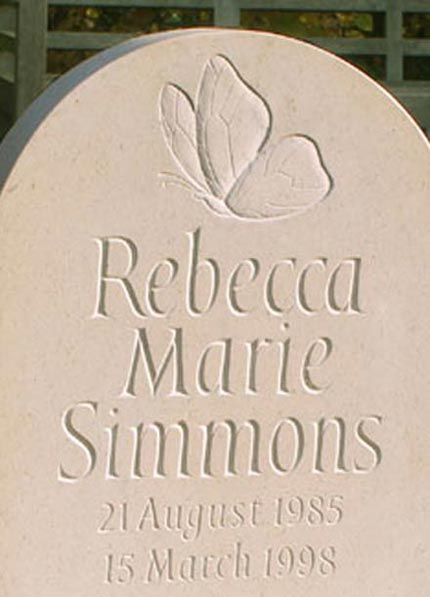 Headstones for Children by Artist Craftsman Ieuan Rees
