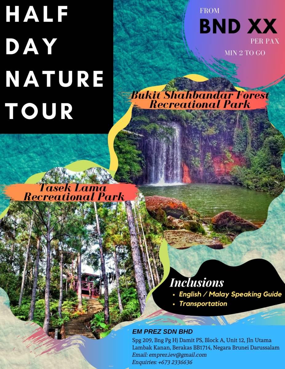 Half Day Nature Tour Indera En Voy Transportation