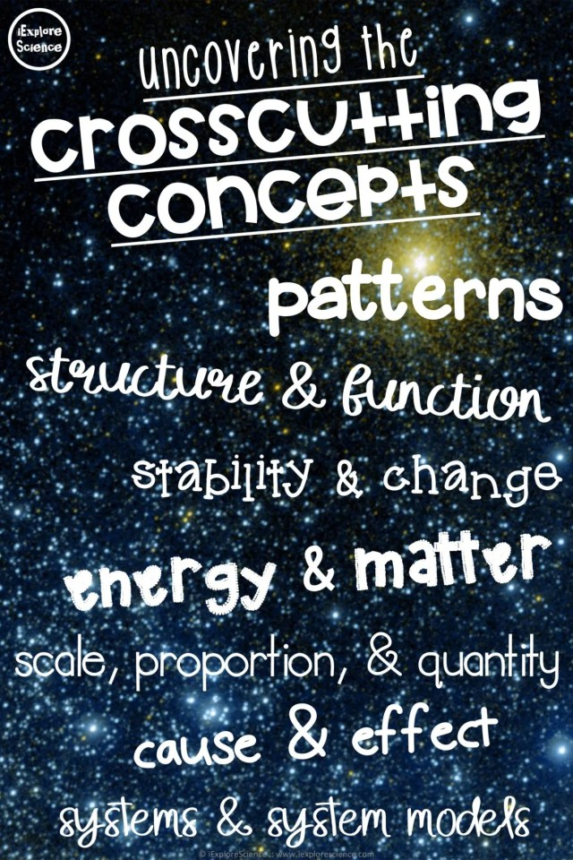 crosscutting concepts for the ngss
