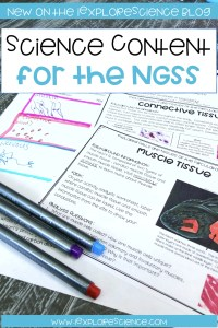 Science Content In Middle and High School NGSS Classrooms