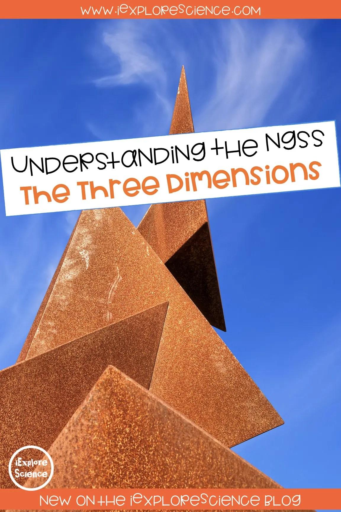 the three dimensions