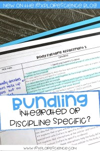 Bundling The NGSS: Integrated Or Discipline Specific?