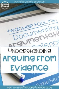 Argumentation vs Explanation With The NGSS