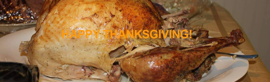 Happy Thanksgiving – the many things we are thankful for