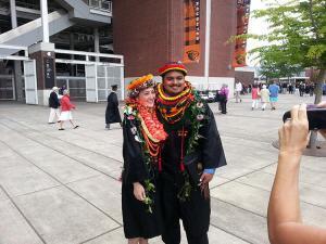 2014 OSU Graduates, Christina and Kealii