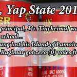 Fun Facts of the 2014 Yap State Election