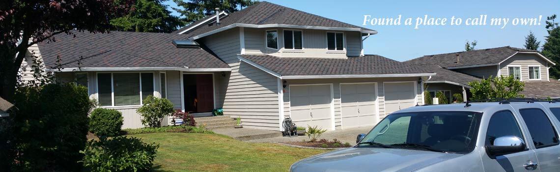 A homeowner at last… lots of hard work and sacrifices