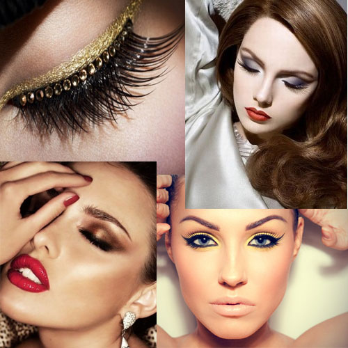 5 makeup trend to FOLLOW this Winter!!, beauty,  makeup trends,  trends,  makeup,  dramatic makeup,  wine lips,  cat eyeliner,  red lipstick,  gold glitter eye,  grey smokey eyes