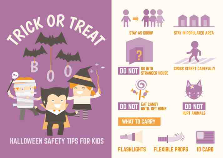 trick or treat halloween safety tips