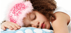 How to stop your childs nightmares sleeping girl