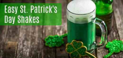 Easy St. Patrick's Day Recipes Shake