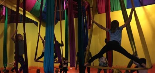 aerial yoga for kids