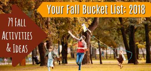 Kids Fall Bucket List 2018