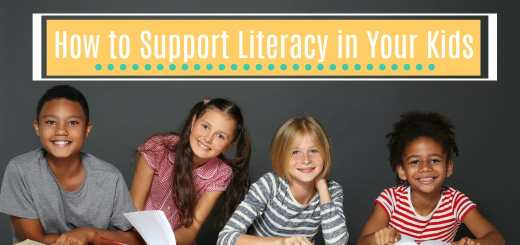 How to Support Literacy in Your Kids
