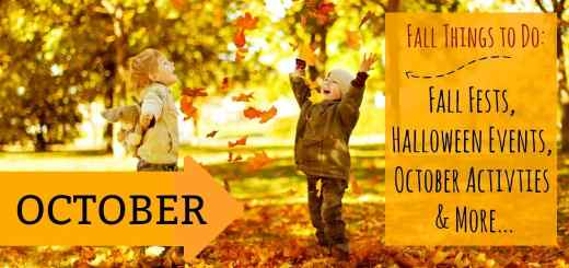 October Events - Fall Things to Do