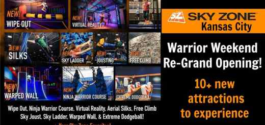 Sky Zone Kansas City Warrior Weekend
