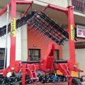 Strigliatore da 6 metri SF 6000 per agricoltura Biologica