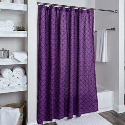 modern purple curtain designs