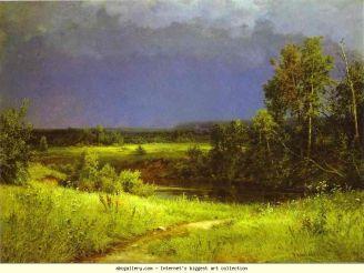 Ivan Shishkin, Gathering Storm