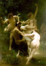 William Adolphe Bouguereau, Nymphes et satyre