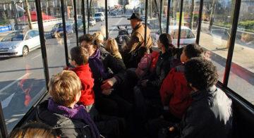 transport de personne - voiture hippomobile copyright Jean-Léo Dugast