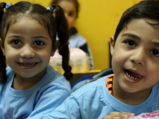 iF Charity - Palestinian Children at school