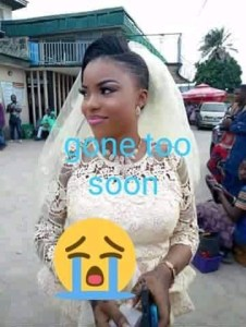 young nigerian lady gave birth, celebrated bithday and died few days later 4