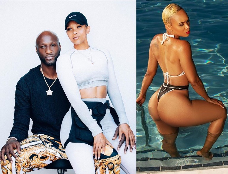 (Photos) Khloe Kardashian's ex-husband Lamar Odom shows off his hot new 'girlfriend'.