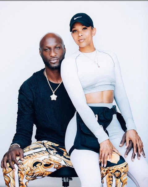 Lamar Odom and new girlfriend Sabrina