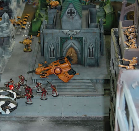 Tau vs Imperial Guard