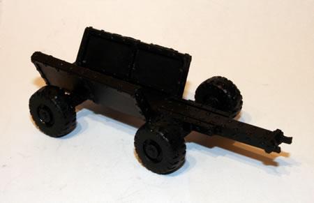 Ork Aircraft Traktor Launch Trolley