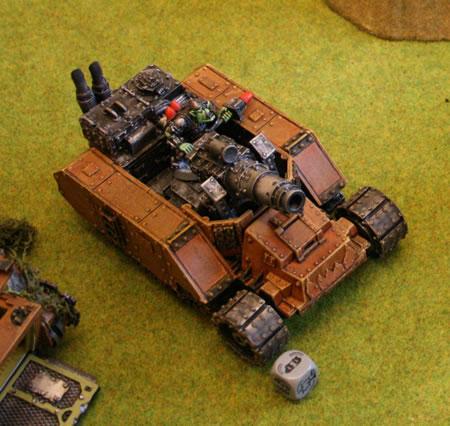 Forge World Ork Gunwagon.