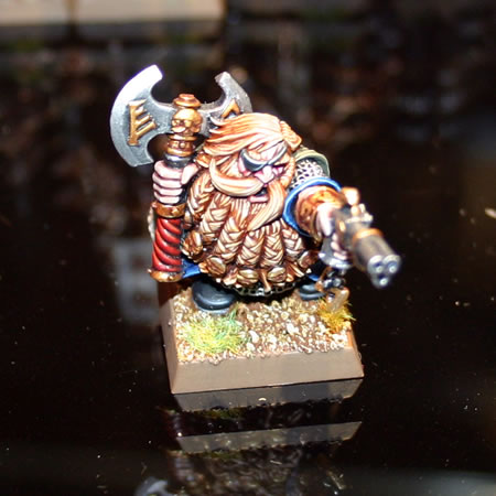 Dwarf Lord with Pistol