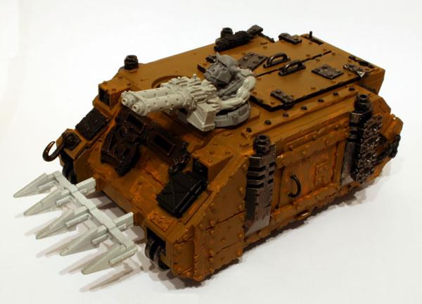 Ork Looted Rhino Gunner