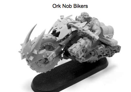 Forge World Ork Nob Bikers