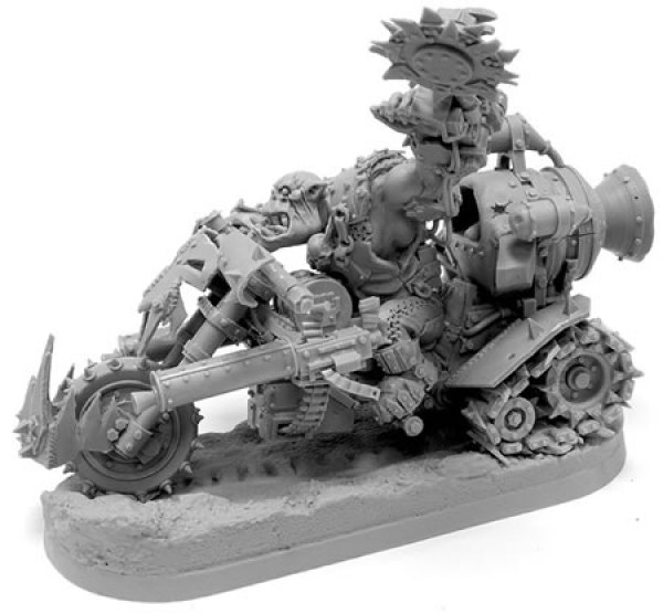 New Forge World Ork Warboss Biker